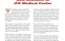 iTotal Knee Resurfacing Now Available at JFK Medical Center